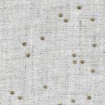 Beige linen with golden dots